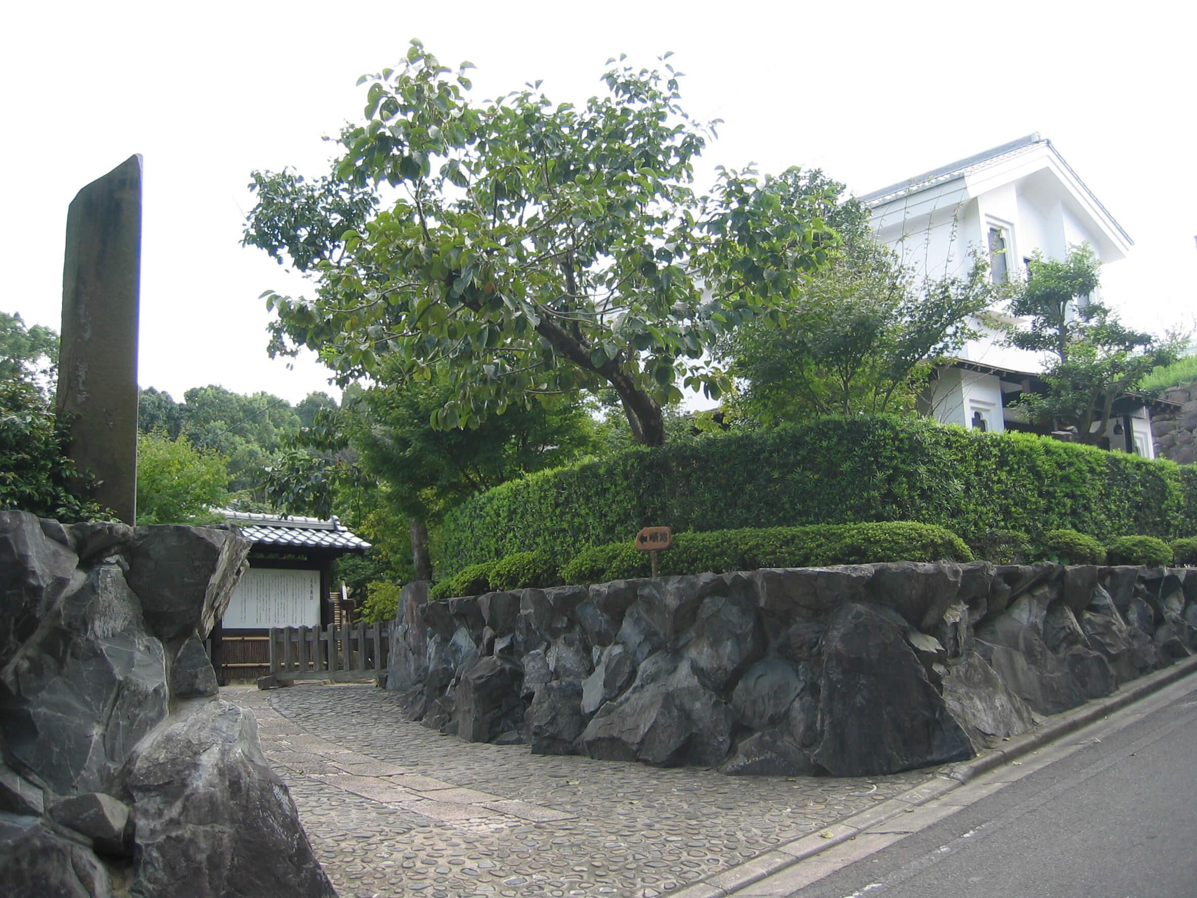 庭園 入口
